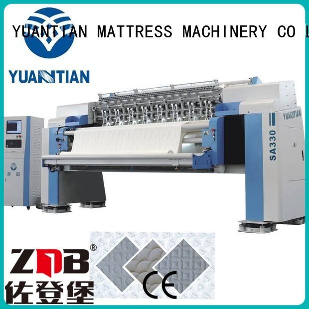 YUANTIAN Mattress Machines Brand mattress machine border quilting machine for mattress price needle