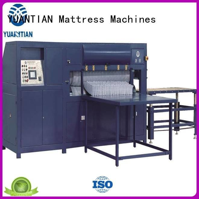YUANTIAN Mattress Machines bending poket machine foam mattress making machine wire