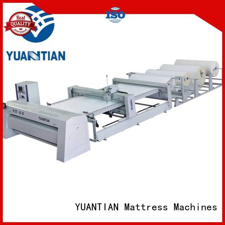 Hot quilting machine for mattress price heads single quilting YUANTIAN Mattress Machines Brand