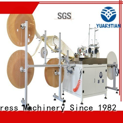 YUANTIAN Mattress Machines border autimatic sewing singer  mattress  sewing machine price label