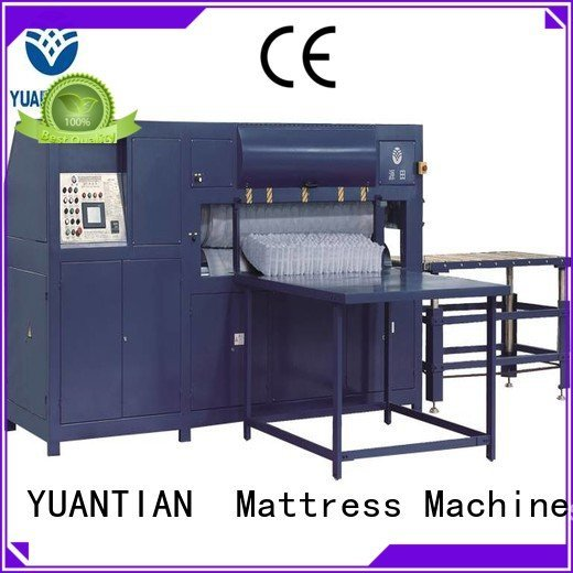 foam mattress making machine qw4 spring mattress packing machine YUANTIAN Mattress Machines Warranty