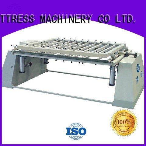foam mattress making machine border bending unpressing YUANTIAN Mattress Machines