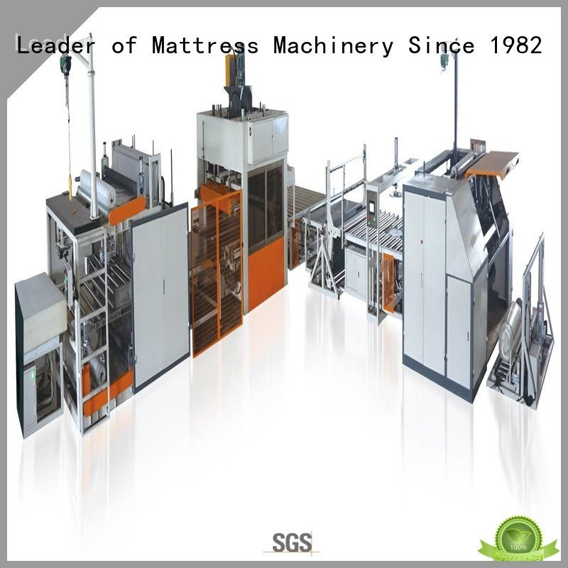 unit bending foam mattress making machine YUANTIAN Mattress Machines