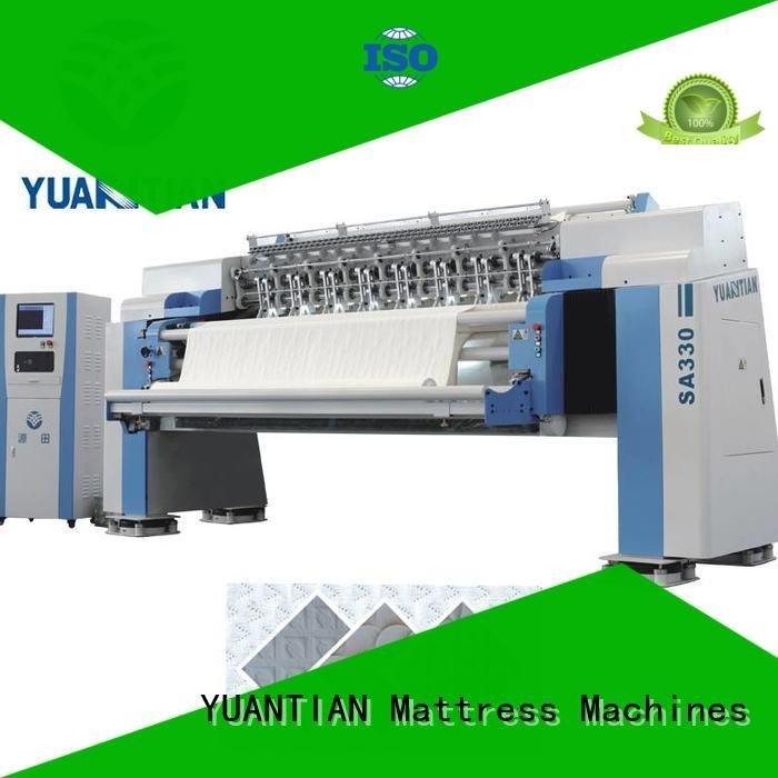 highspeed heads border quilting machine for mattress price YUANTIAN Mattress Machines