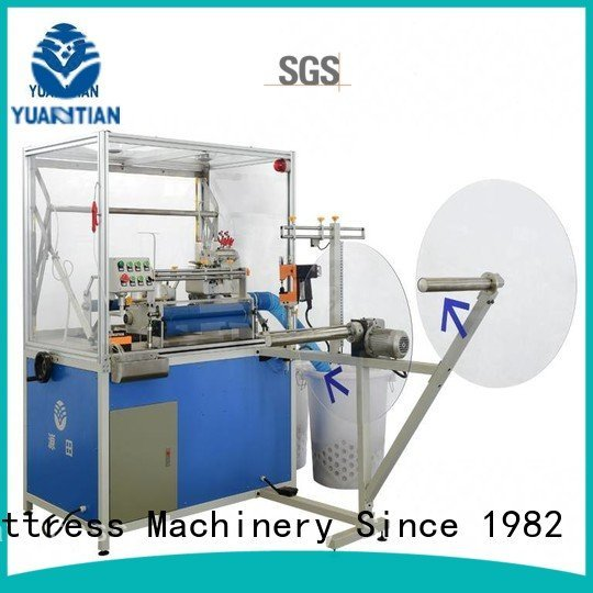 Double Sewing Heads Flanging Machine heavyduty Mattress Flanging Machine YUANTIAN Mattress Machines Brand mattress