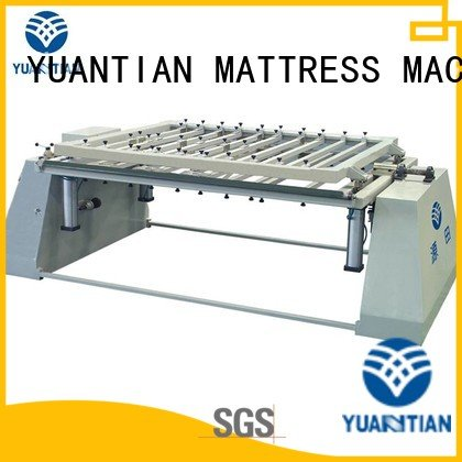 OEM foam mattress making machine border spring pneumatic mattress packing machine