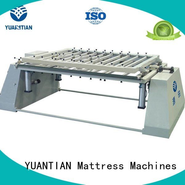 YUANTIAN Mattress Machines Brand border machine mattress packing machine pneumatic straightening