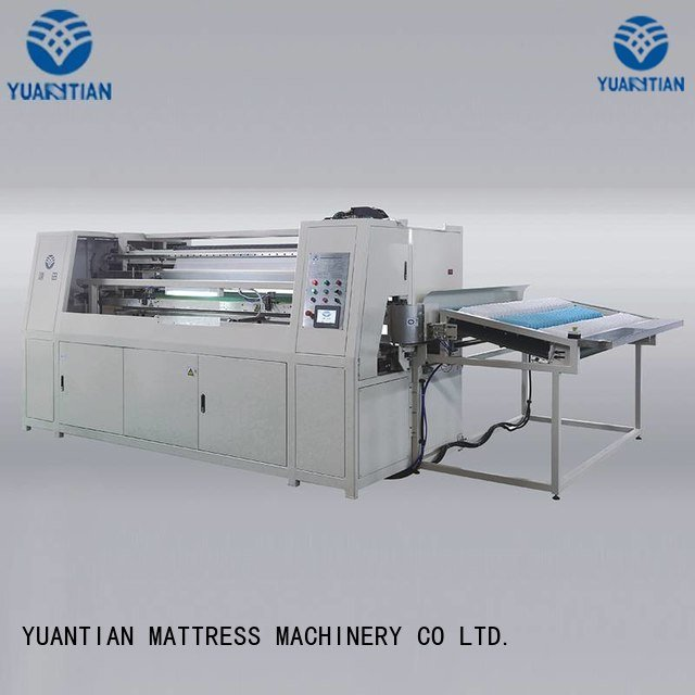 Hot Automatic Pocket Spring Machine dzg1 Automatic High Speed Pocket Spring Machine pocketspring YUANTIAN Mattress Machines