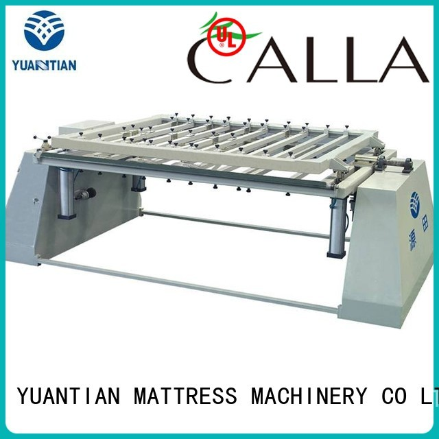 foam mattress making machine straightening pneumatic packing YUANTIAN Mattress Machines Brand company