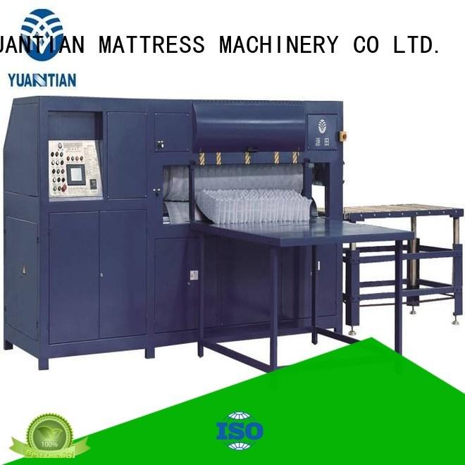 YUANTIAN Mattress Machines Brand automatic spring unpressing mattress packing machine manufacture
