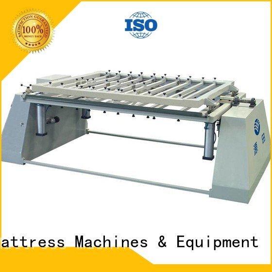 Custom unit mattress packing machine straightening foam mattress making machine