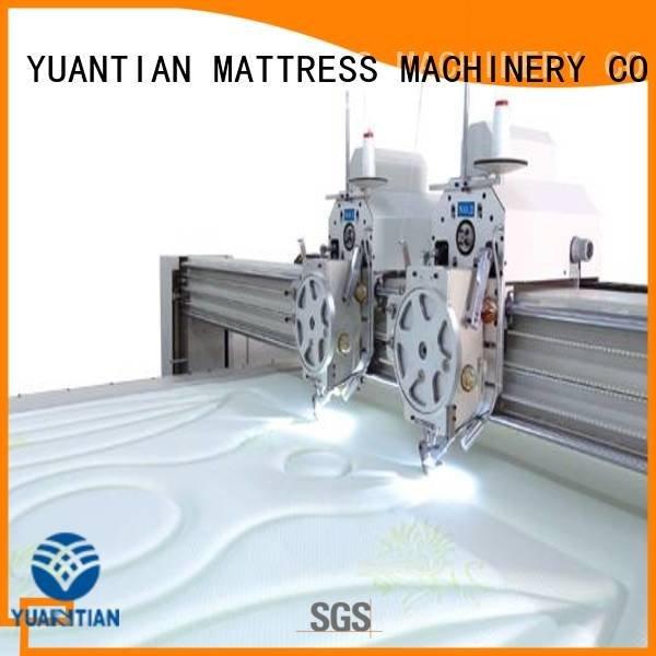 Custom machine quilting machine for mattress side quilting machine for mattress price