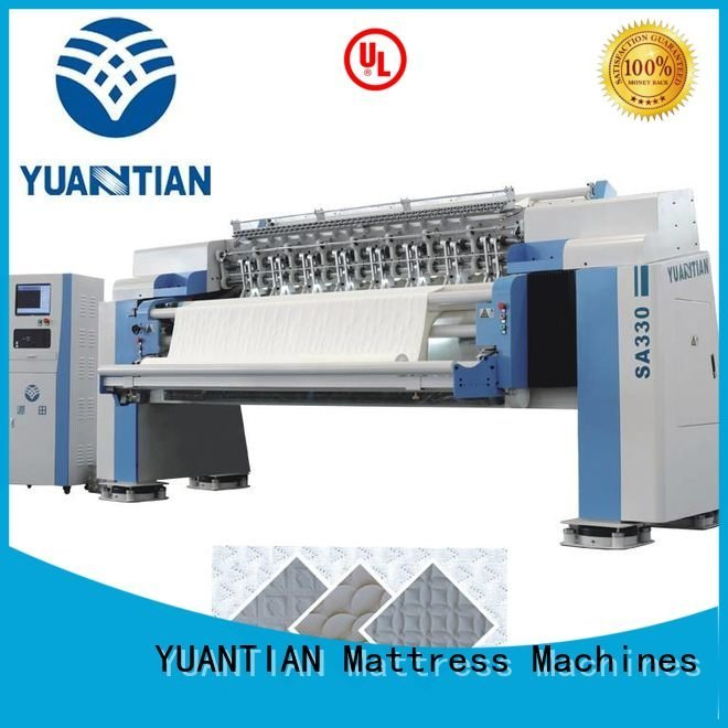 needle highspeed quilting machine for mattress price YUANTIAN Mattress Machines