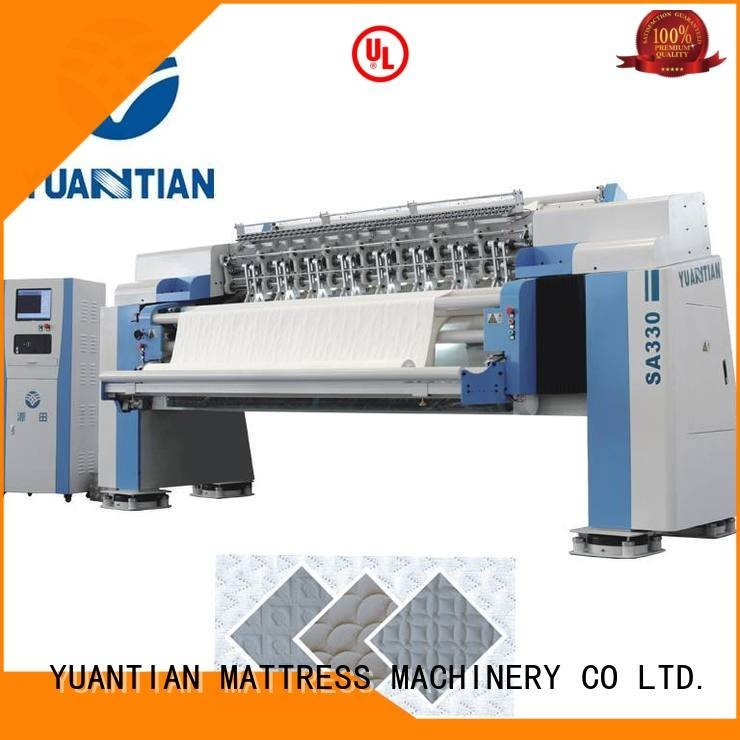 quilting machine for mattress price stitching YUANTIAN Mattress Machines Brand quilting machine for mattress highspeed