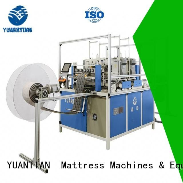 YUANTIAN Mattress Machines Brand decorative border longarm Mattress Sewing Machine