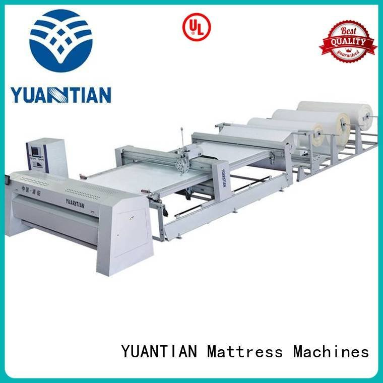 YUANTIAN Mattress Machines highspeed quilting machine for mattress needle quilting
