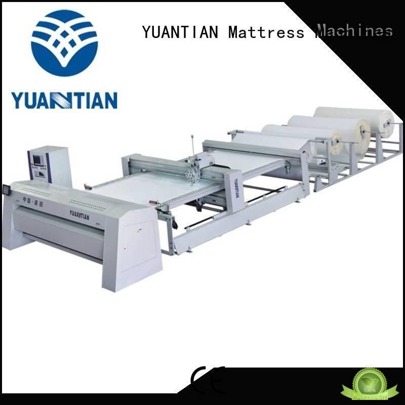 quilting machine for mattress price machine quilting YUANTIAN Mattress Machines Brand