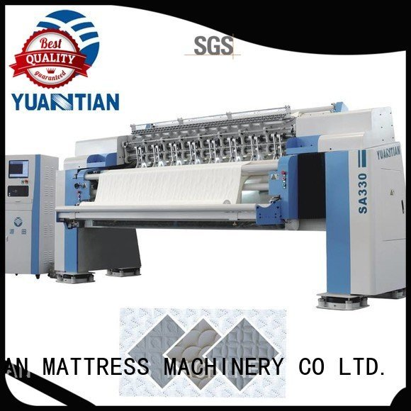 single machine singleneedle quilting machine for mattress YUANTIAN Mattress Machines