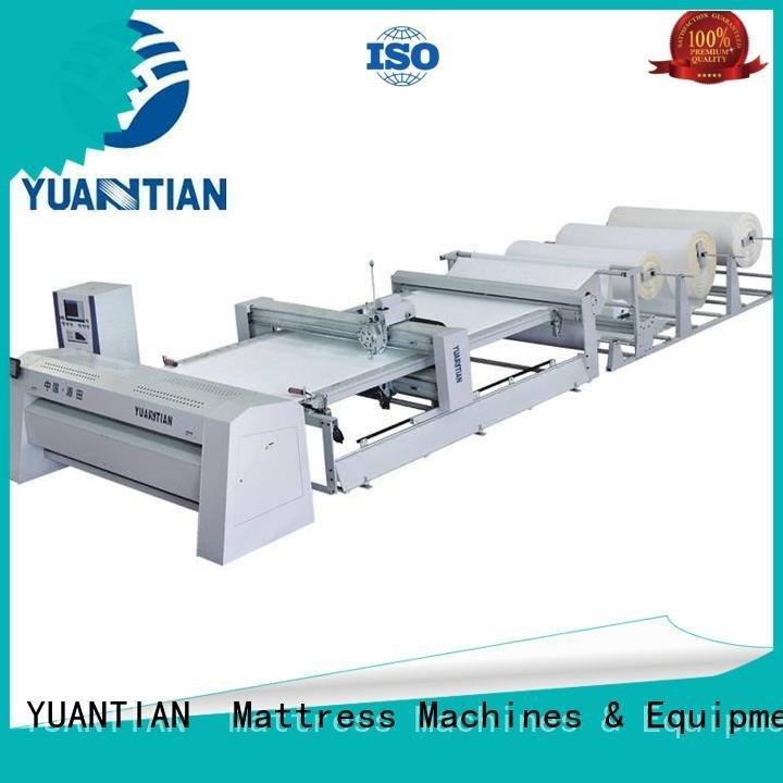 YUANTIAN Mattress Machines Brand quilting lockstitch multineedle quilting machine for mattress ls320