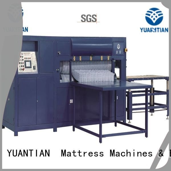 YUANTIAN Mattress Machines foam mattress making machine automatic straightening unit