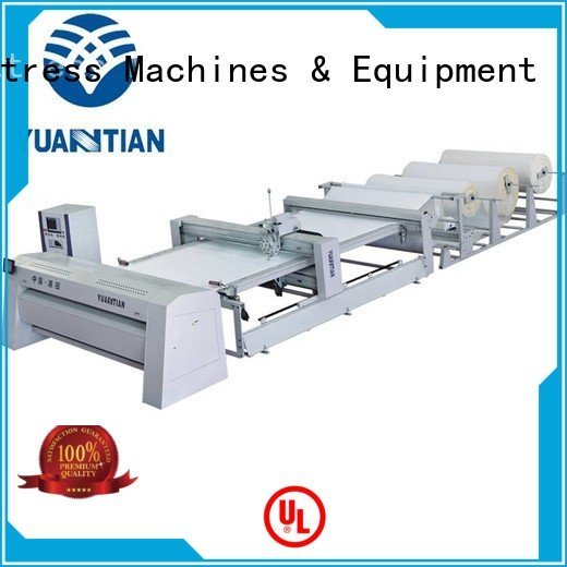side multineedle border quilting YUANTIAN Mattress Machines quilting machine for mattress