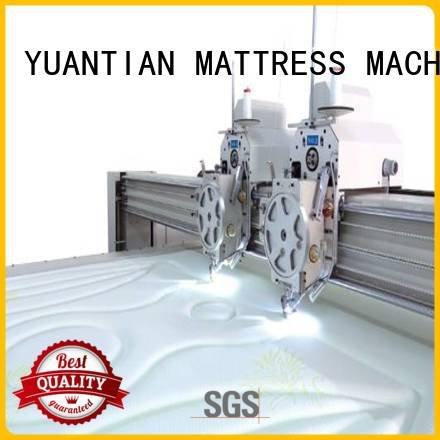 lockstitch machine singleneedle highspeed YUANTIAN Mattress Machines quilting machine for mattress