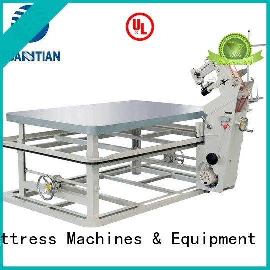Hot mattress tape edge machine table YUANTIAN Mattress Machines Brand