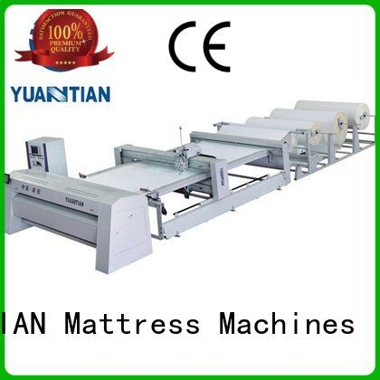 YUANTIAN Mattress Machines Brand border bhf1 quilting machine for mattress price machine quilting