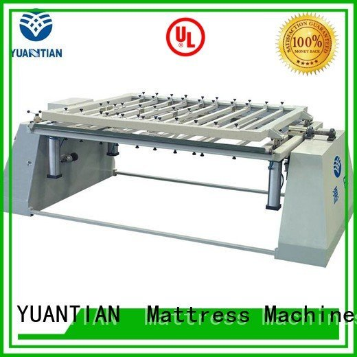 YUANTIAN Mattress Machines mattress packing machine border straightening spring mattress