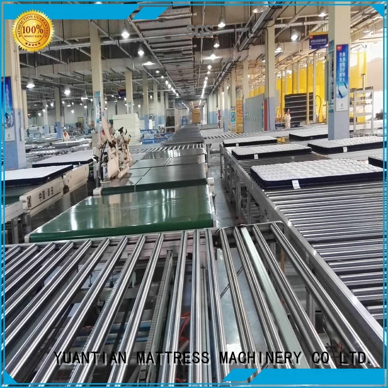 Wholesale conveyor line Auto Mattress Conveyor Production Line YUANTIAN Mattress Machines Brand