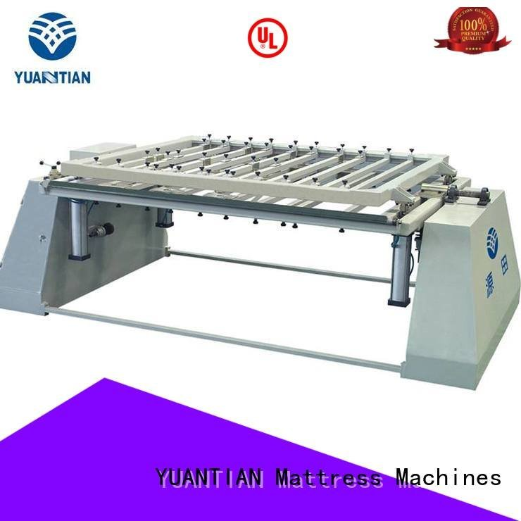 YUANTIAN Mattress Machines Brand pneumatic poket packing mattress packing machine spring