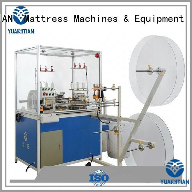 double Mattress Flanging Machine heads machine YUANTIAN Mattress Machines