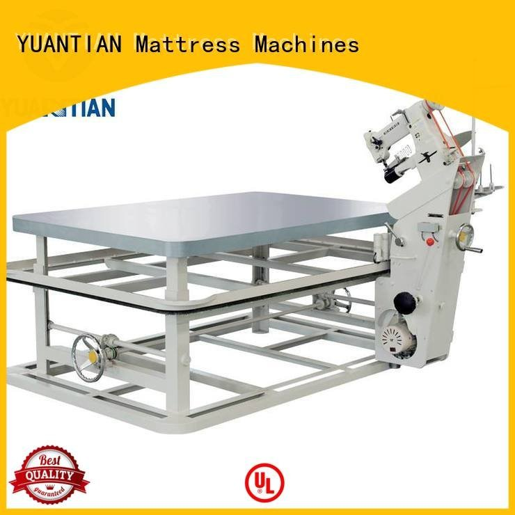 binding edge table YUANTIAN Mattress Machines mattress tape edge machine
