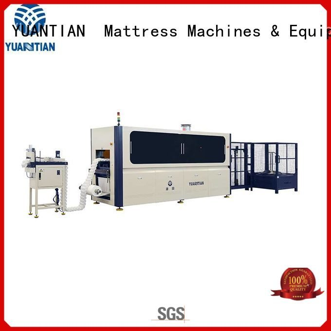 YUANTIAN Mattress Machines Brand dzg1 dzg6 dzh3 Automatic High Speed Pocket Spring Machine high