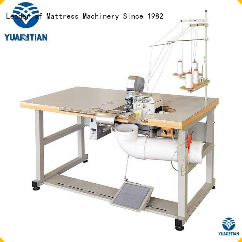 Hot Double Sewing Heads Flanging Machine ds7a Mattress Flanging Machine ds5b YUANTIAN Mattress Machines