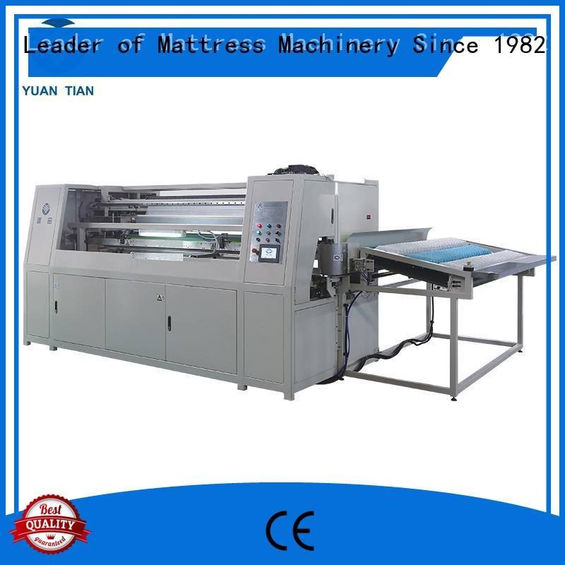 speed pocketspring assembling YUANTIAN Mattress Machines Automatic High Speed Pocket Spring Machine