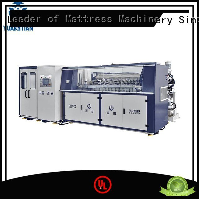 Hot bonnell spring machine spring production machine YUANTIAN Mattress Machines Brand