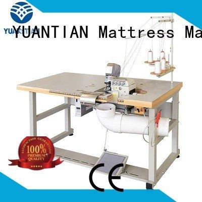 Custom multifunction Mattress Flanging Machine heads Double Sewing Heads Flanging Machine
