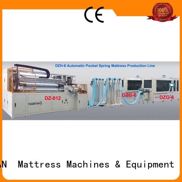 Custom Automatic High Speed Pocket Spring Machine dt012 dzg6 dzg1 YUANTIAN Mattress Machines