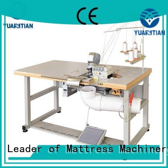 OEM Mattress Flanging Machine heads mattress Double Sewing Heads Flanging Machine