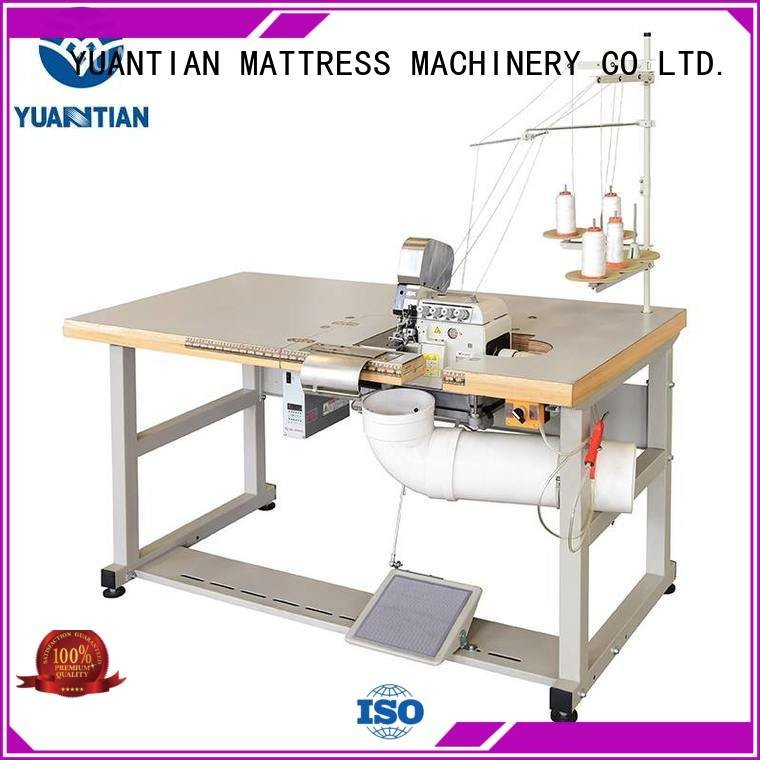 sewing ds8a YUANTIAN Mattress Machines Double Sewing Heads Flanging Machine