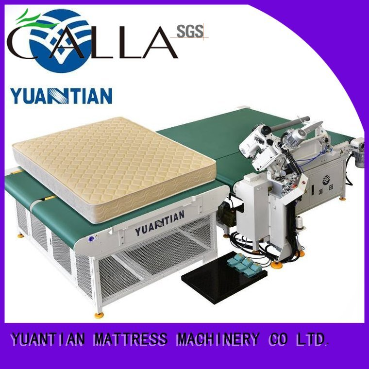 mattress tape edge machine tape top mattress YUANTIAN Mattress Machines Brand