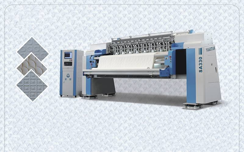 SA-330 High-speed Multi-needle Quilting Machine