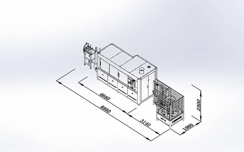 DZG-6数控袋装弹簧粘胶机