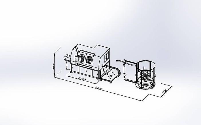 DZG-1A Máquina Pocket Spring