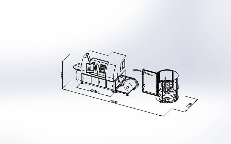DZG-1A Pocket Spring Machine