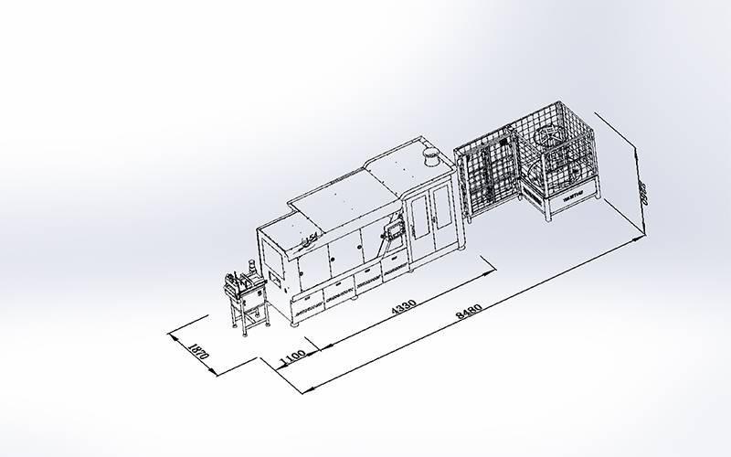 DT-012Amortiguadora de bolsillo de alta velocidad automática