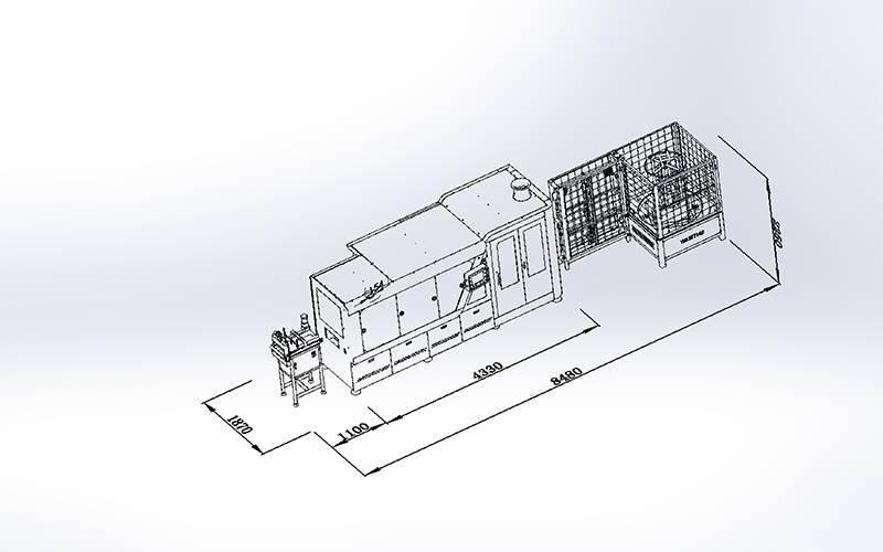 DT-012数控高速袋装弹簧机