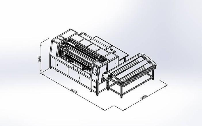 DN-6数控袋装弹簧黏胶机