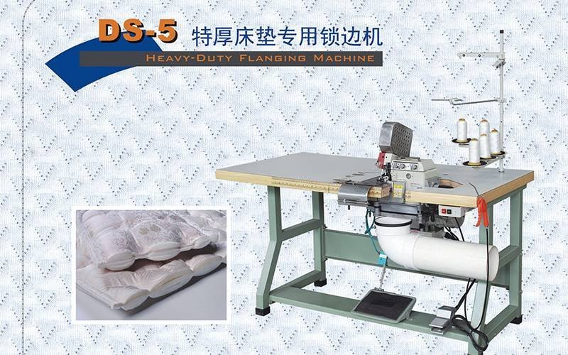 DS-5 Heavy-Duty Flanging Machine